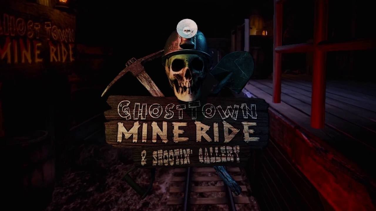 Ghost town mine ride and shooting gallery nieuw
